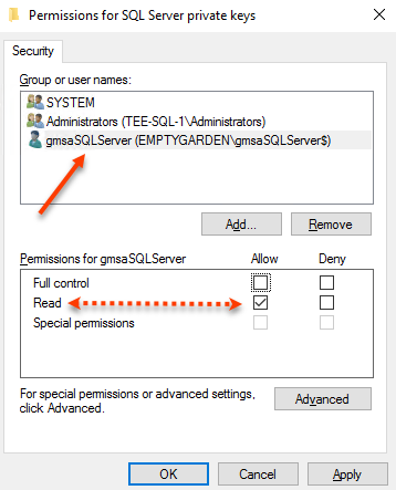 SQL Server – Fun with certificates – The EmptyGarden