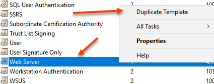 Sql server fun with certificates the emptygarden provide a template display name you might also want to change the validity period and renewal period but that is completely up to you and your yadclub Gallery